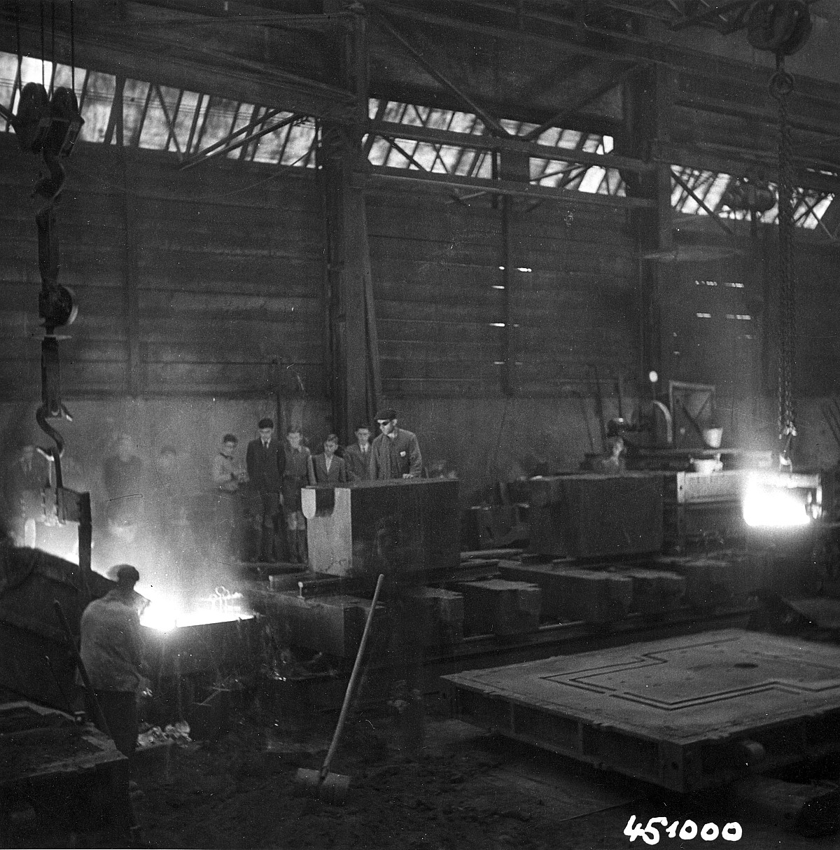 GFA 12/451000: Reportage casting process in malleable casting