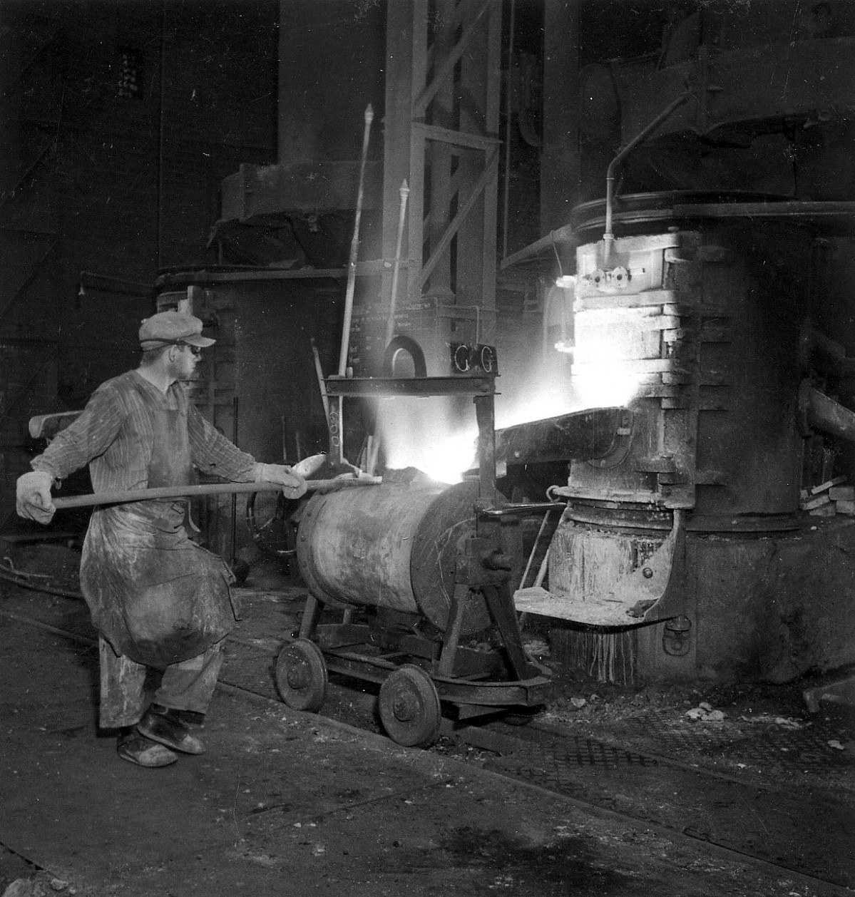 GFA 12/6770: Furnaces and foundry plant; grey casting