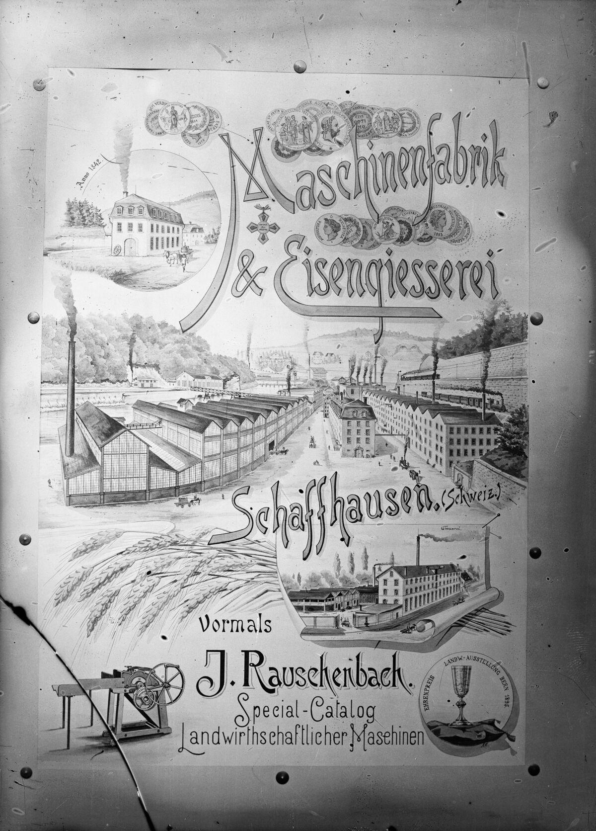 GFA 16/15025: Advertisement machine works Rauschenbach