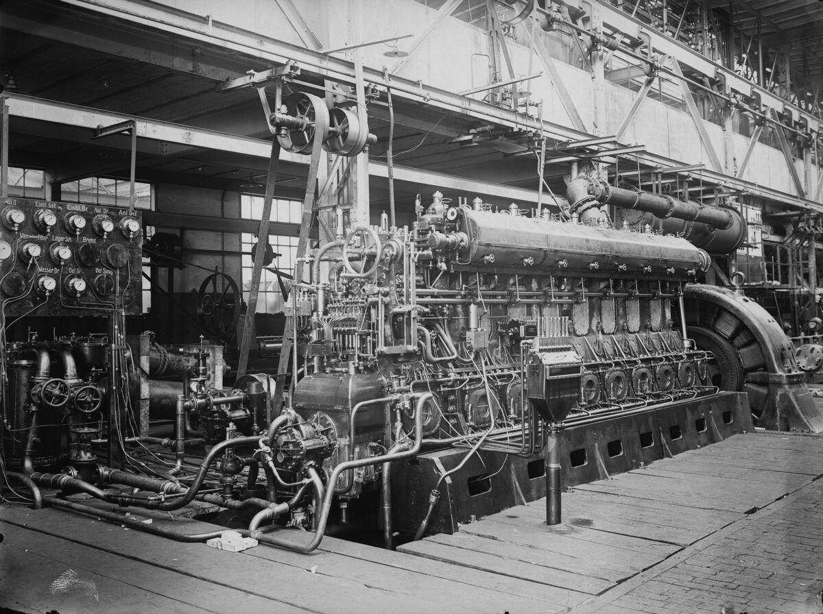 GFA 16/15166.2: Diesel engine