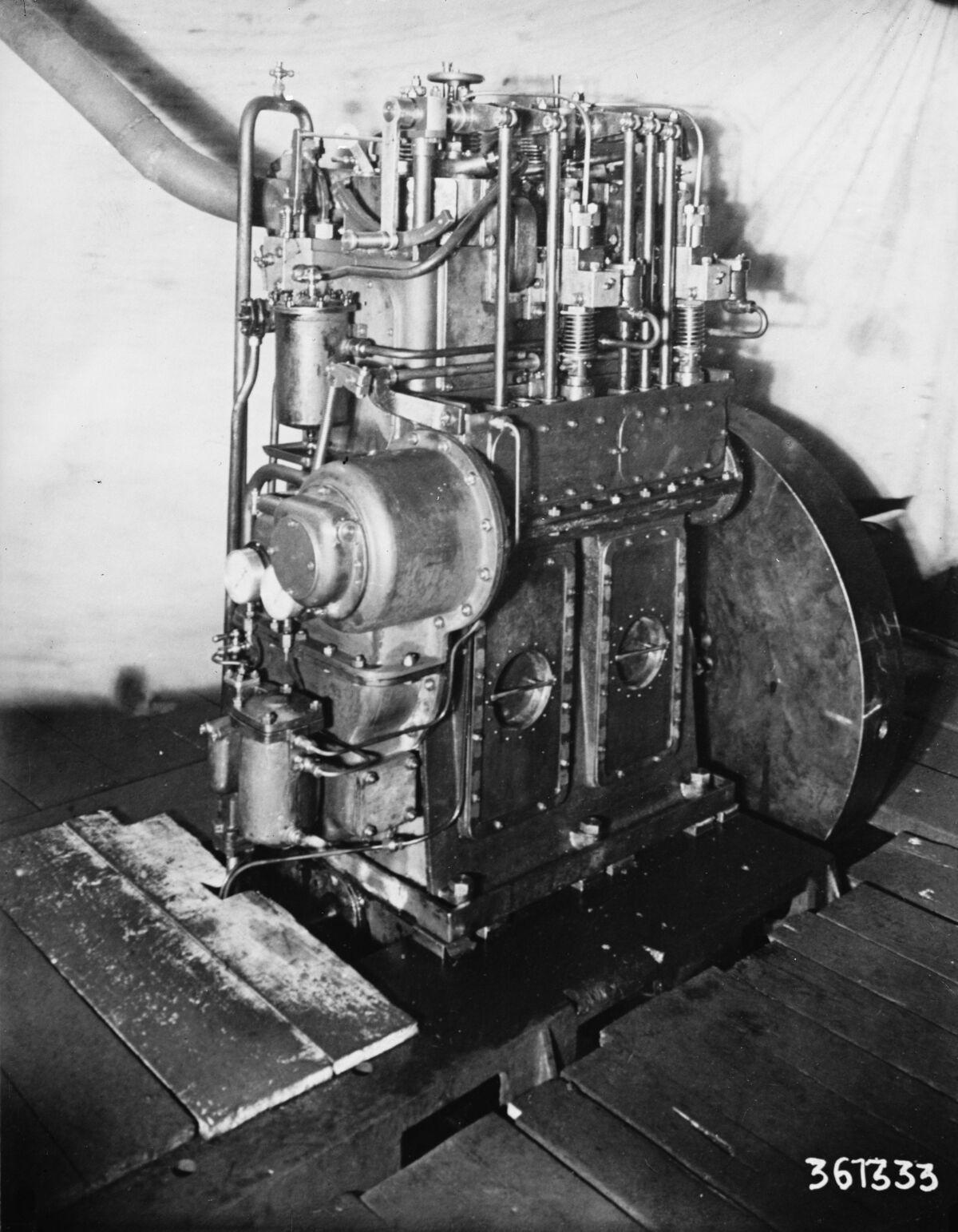 GFA 16/15170: Diesel engine 36 T 333