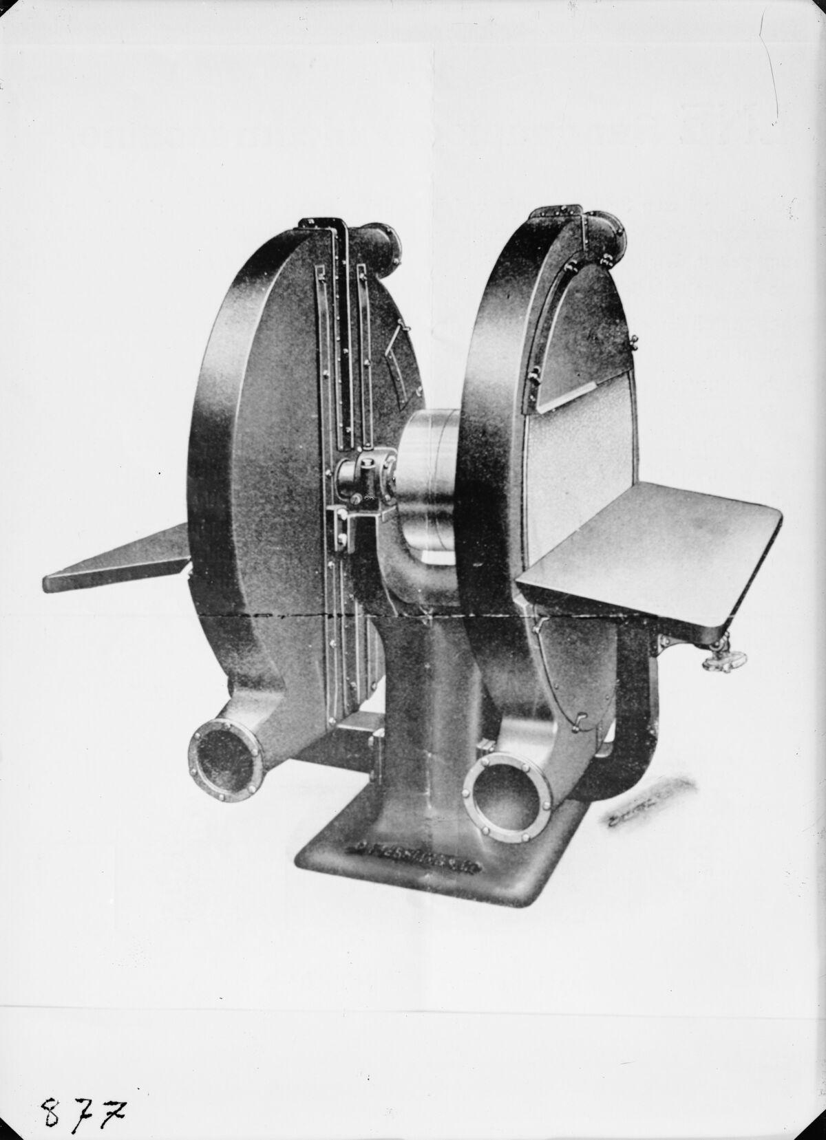 GFA 16/15199: Glass paper grinder