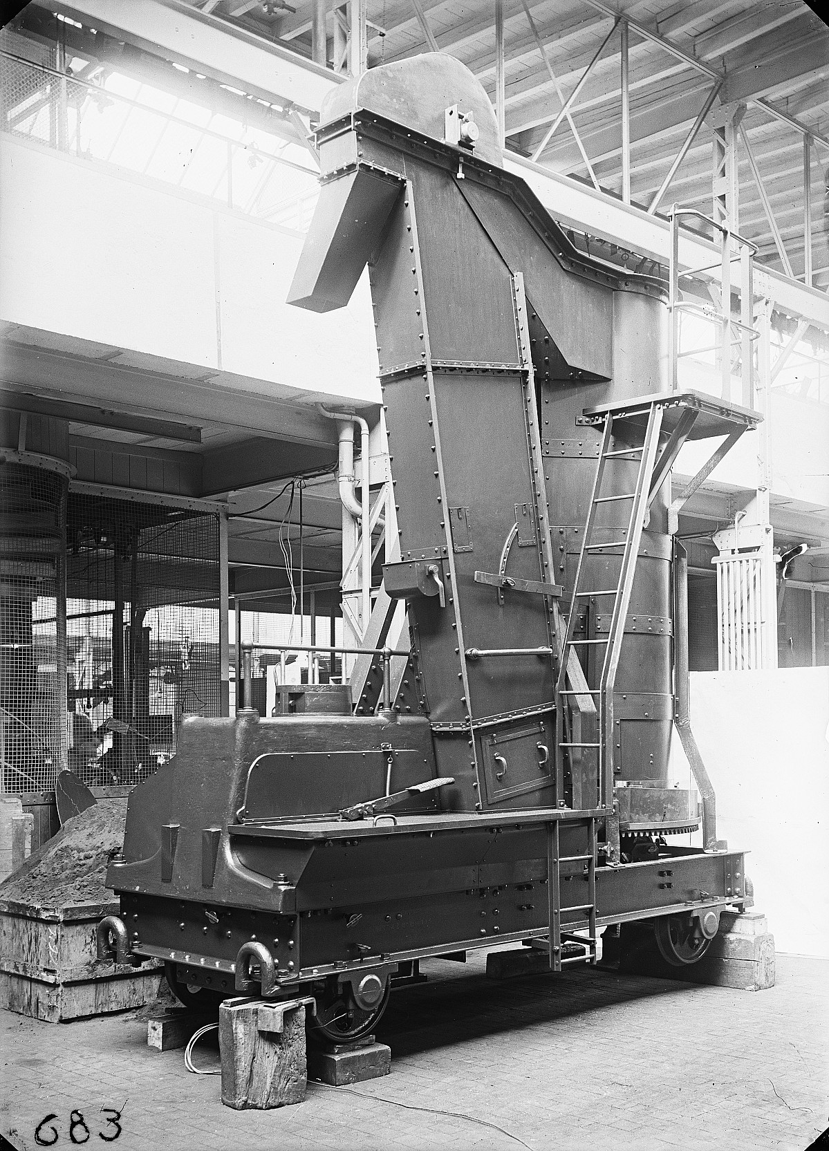 GFA 16/15201: Sand centrifuge carriage
