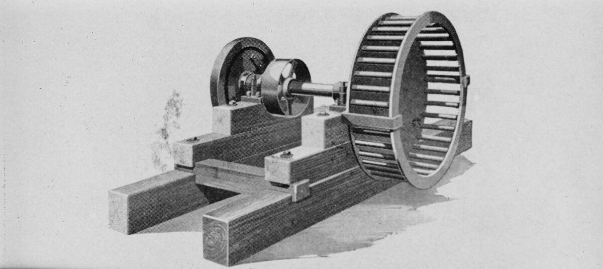 GFA 16/15203: Centrifuge wheel for sand centrifuge