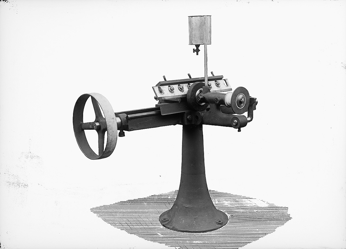 GFA 16/15207: Cobbleblock analyser and circular saw blade for grinding machine