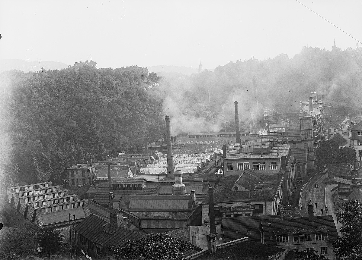 GFA 16/2729: Overall view plant I 1917