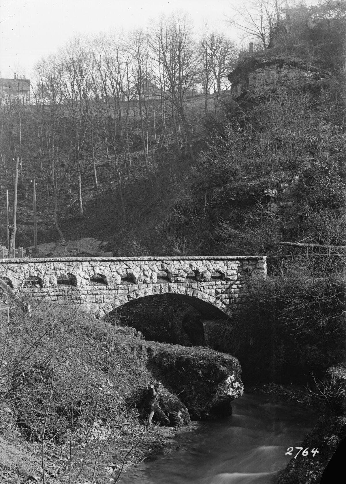 "GFA 16/2764: Bridge in the ""Kessel"""