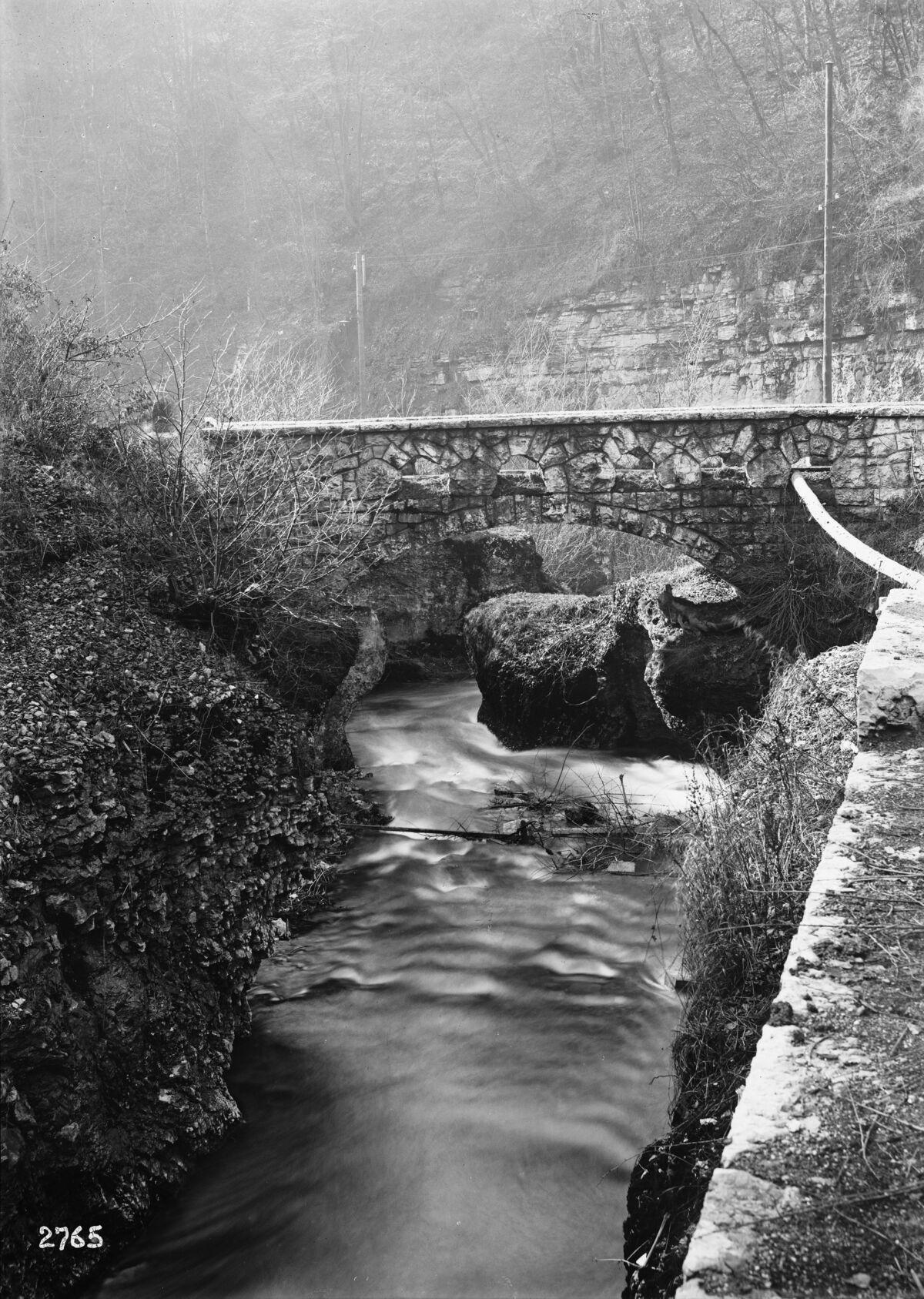 "GFA 16/2765: Bridge in the ""Kessel"""