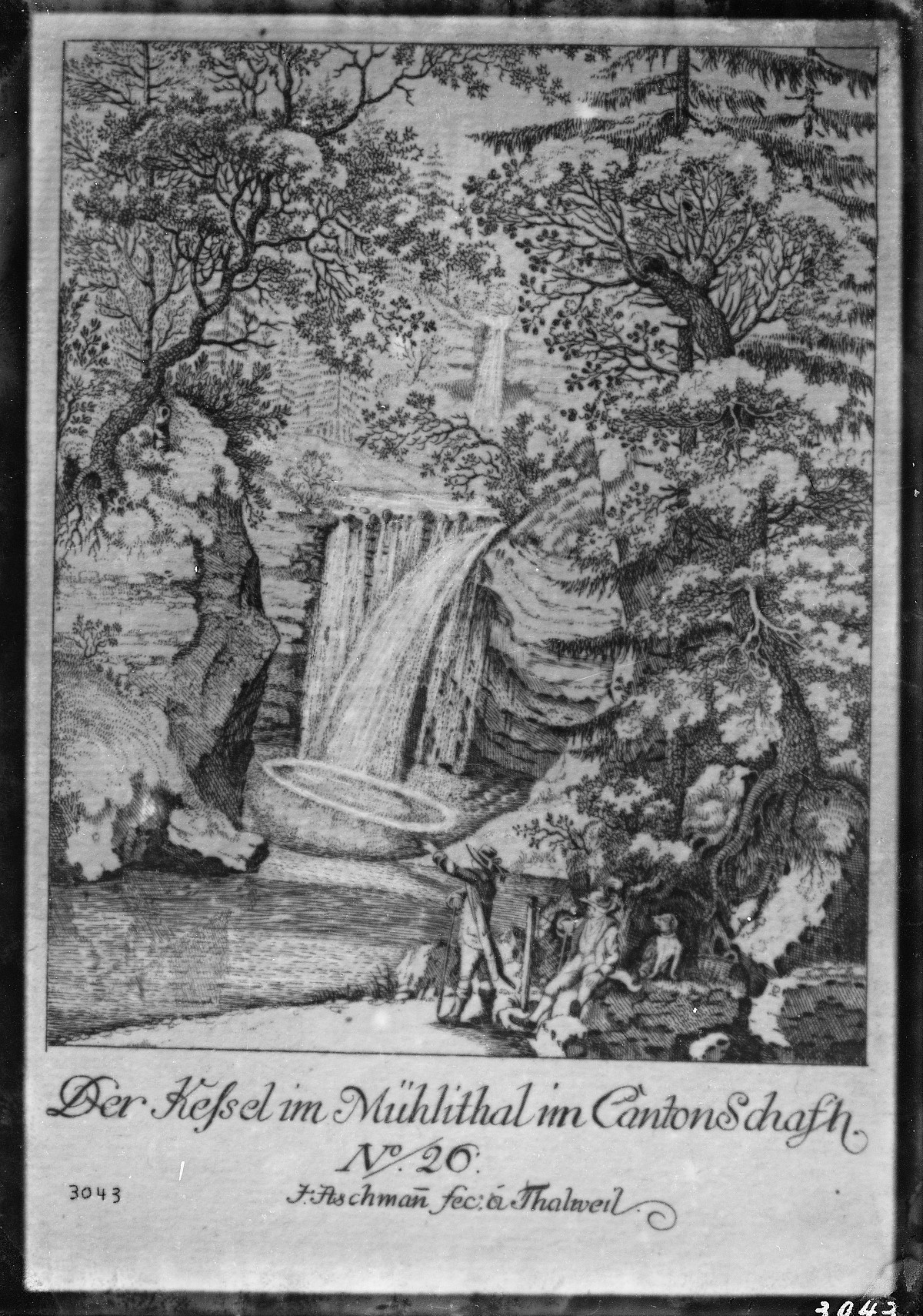 "GFA 16/3043: The ""Kessel"" in Mühlental"