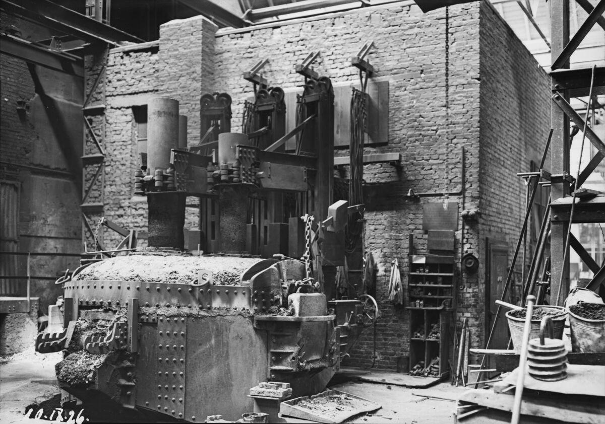 GFA 16/3222: 10 tons electric furnace, plant I