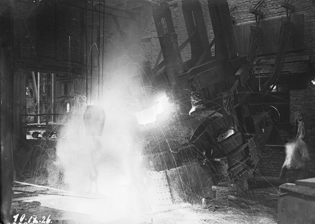 GFA 16/3224: 10 tons electric furnace, plant I