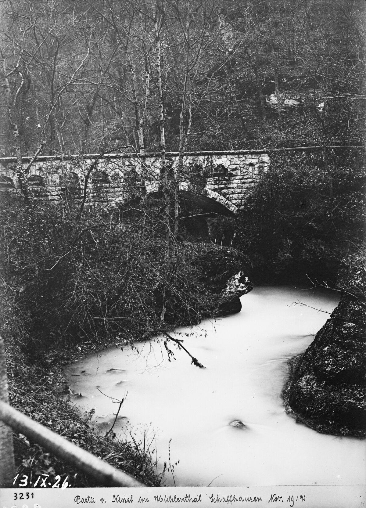 "GFA 16/3231: Bridge in the ""Kessel"""