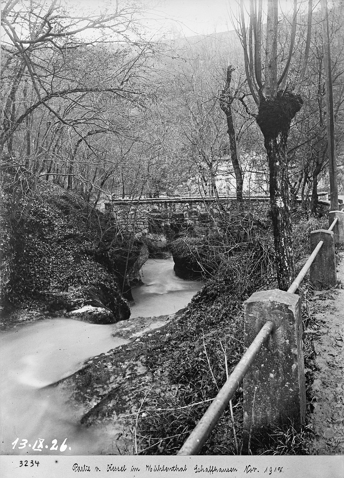"GFA 16/3234: Bridge in the ""Kessel"""