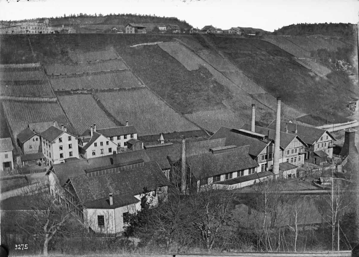 GFA 16/3275: Exterior view plant I 1889