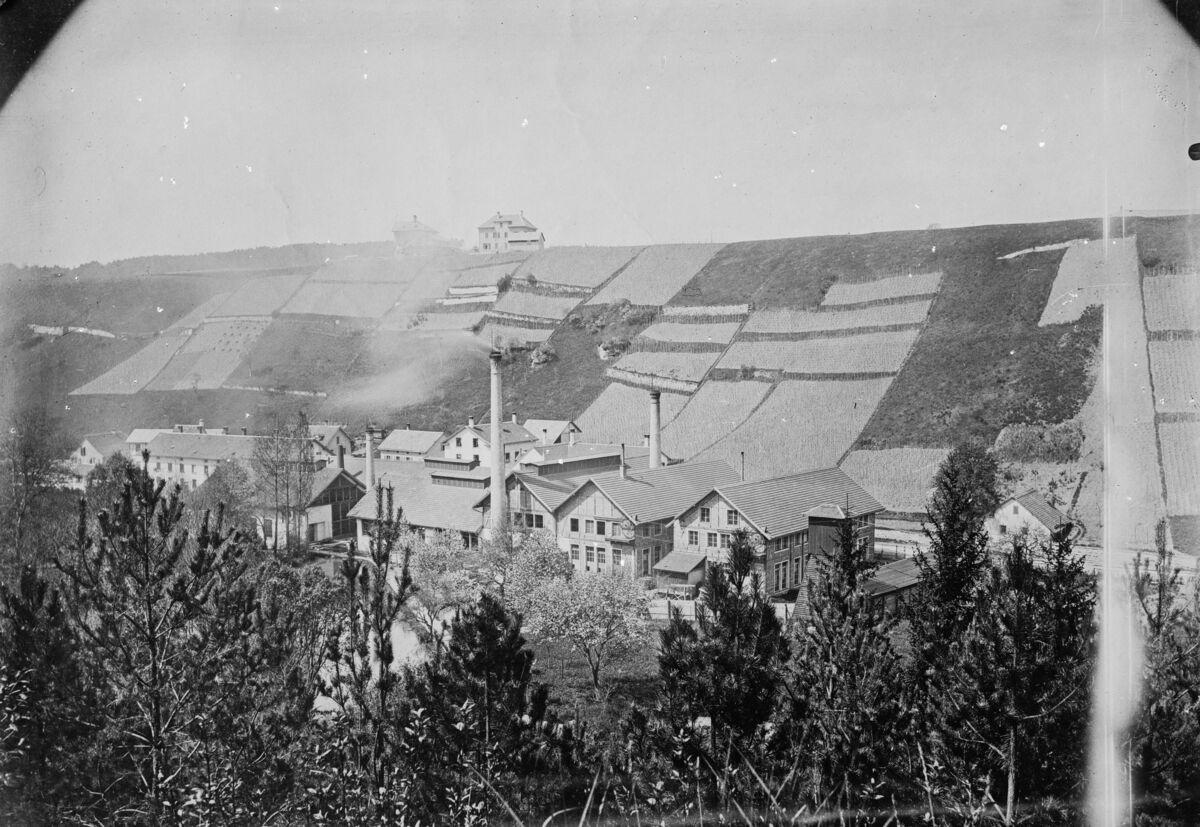 GFA 16/3650: Exterior view plant I 1889