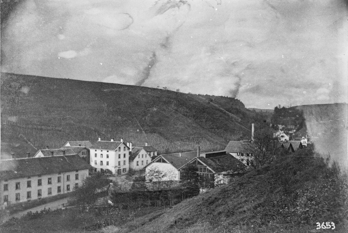 GFA 16/3653: Exterior view plant I 1889