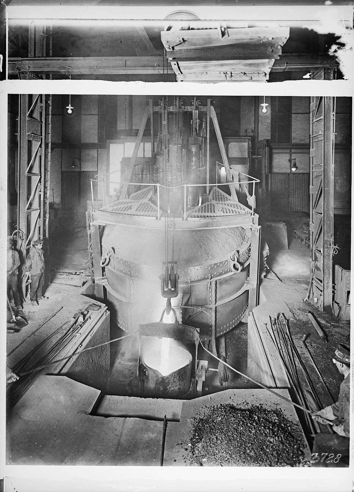 GFA 16/3728: Electric furnace 3, plant I