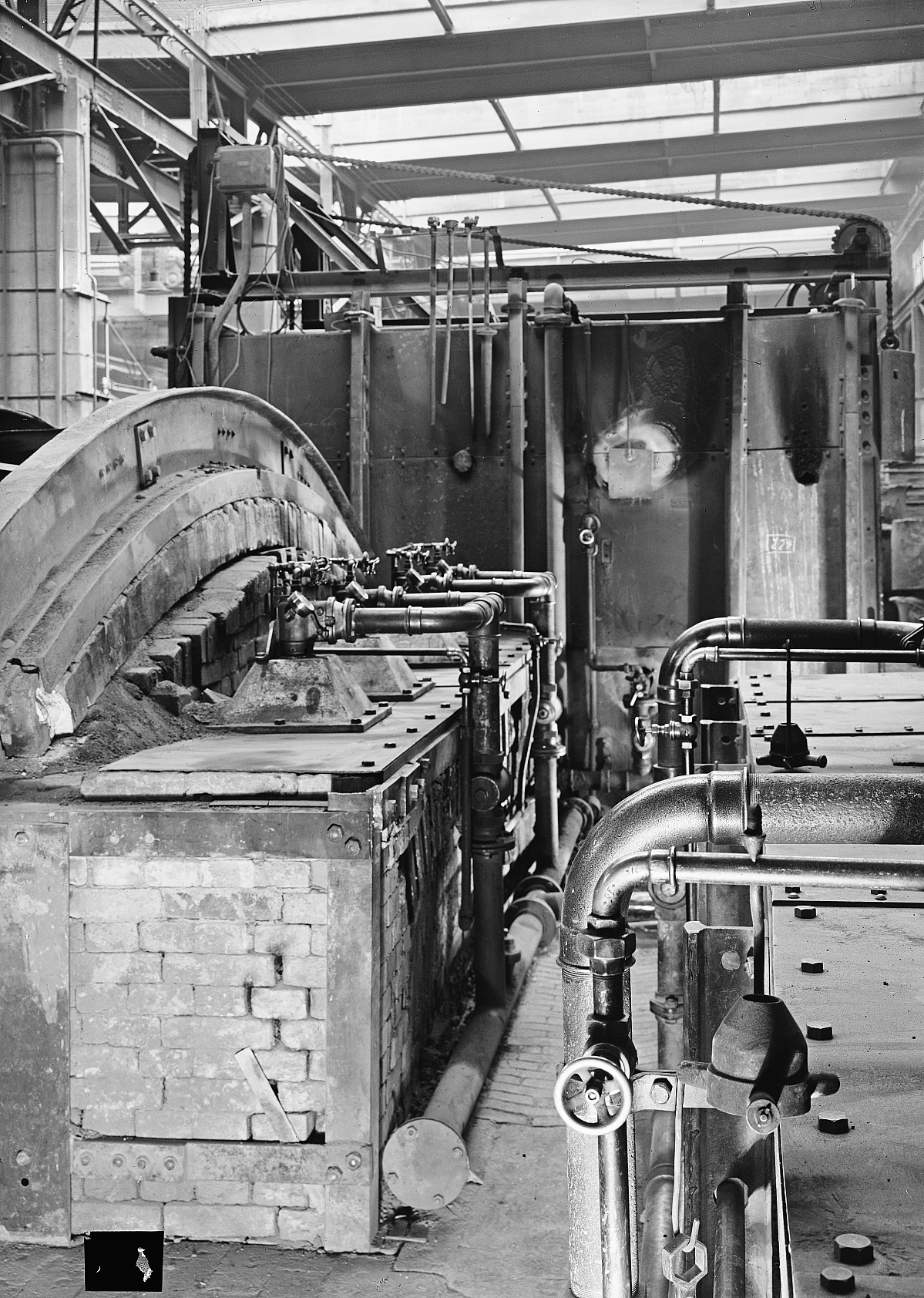 GFA 16/39296: Annealing shop, plant I