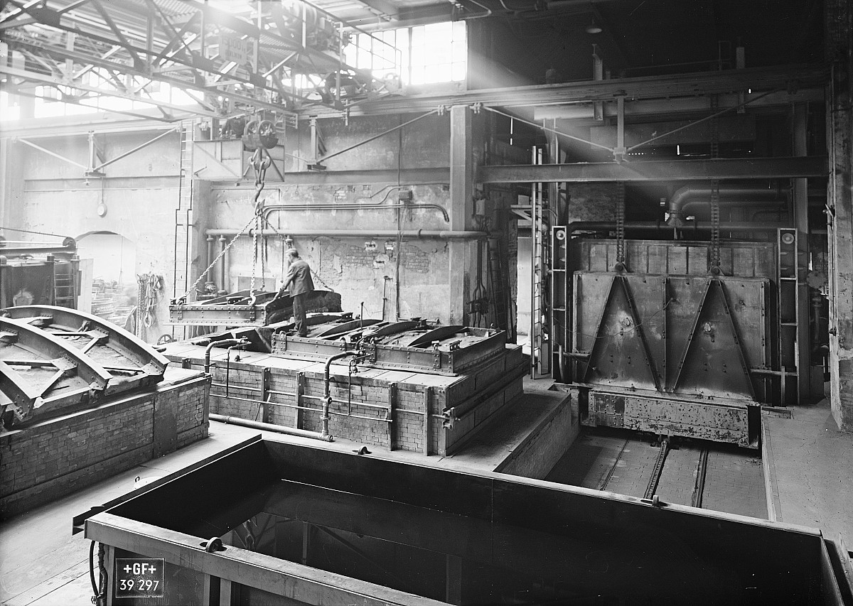 GFA 16/39297: Annealing shop, plant I