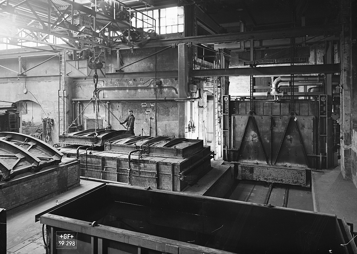 GFA 16/39298: Annealing shop, plant I