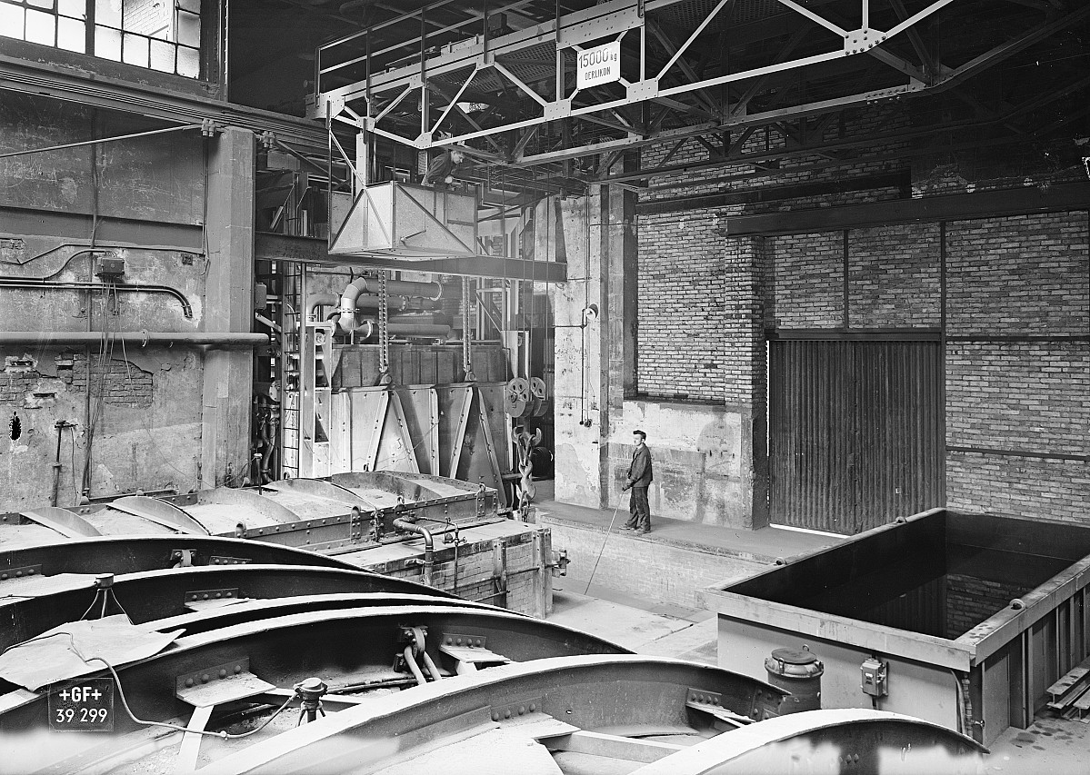 GFA 16/39299: Annealing shop, plant I