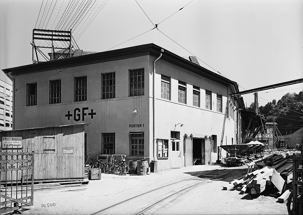 GFA 16/39500: Plant I 1939, before the conversion