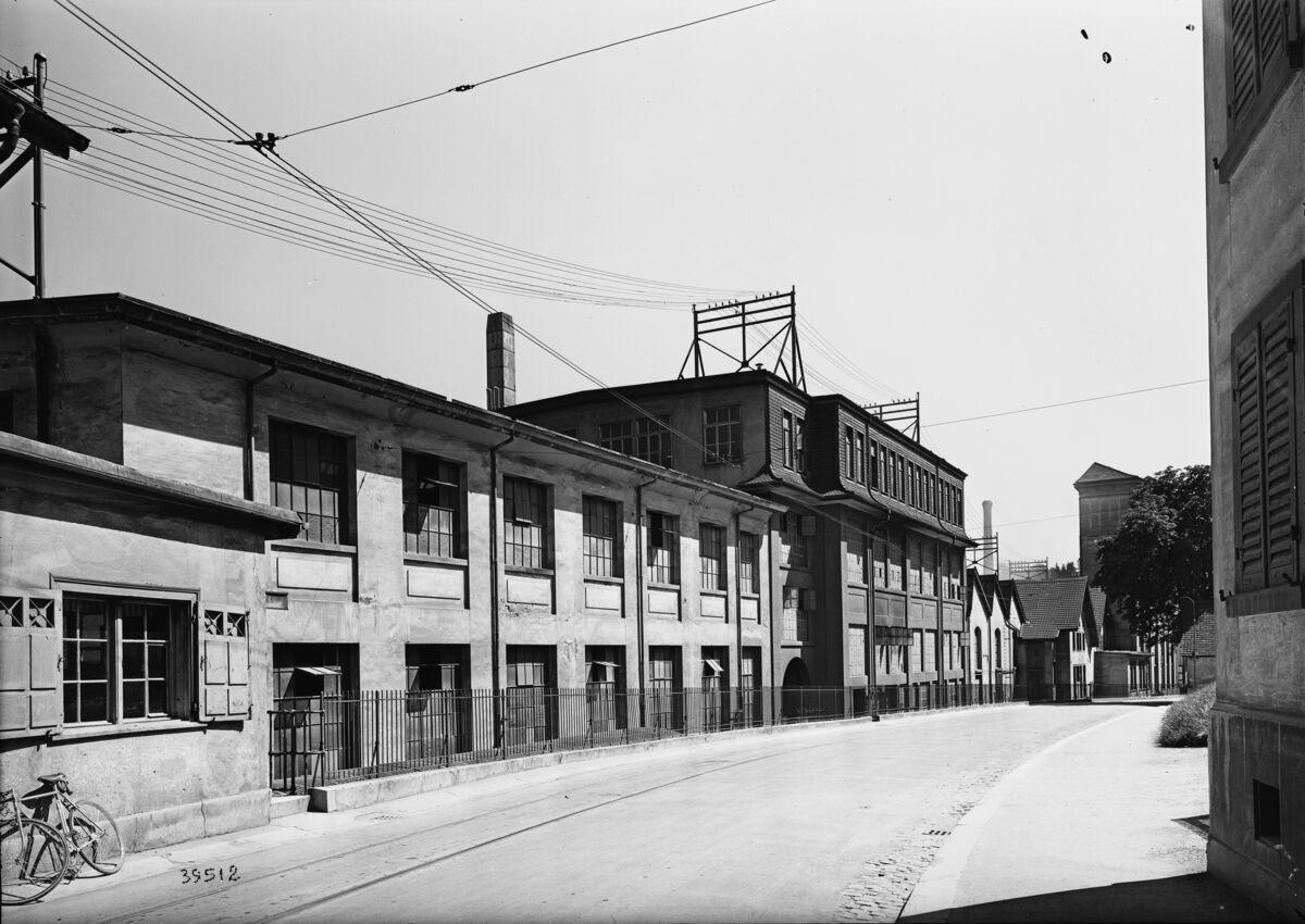 GFA 16/39512: Repair and mechanical workshop 1939
