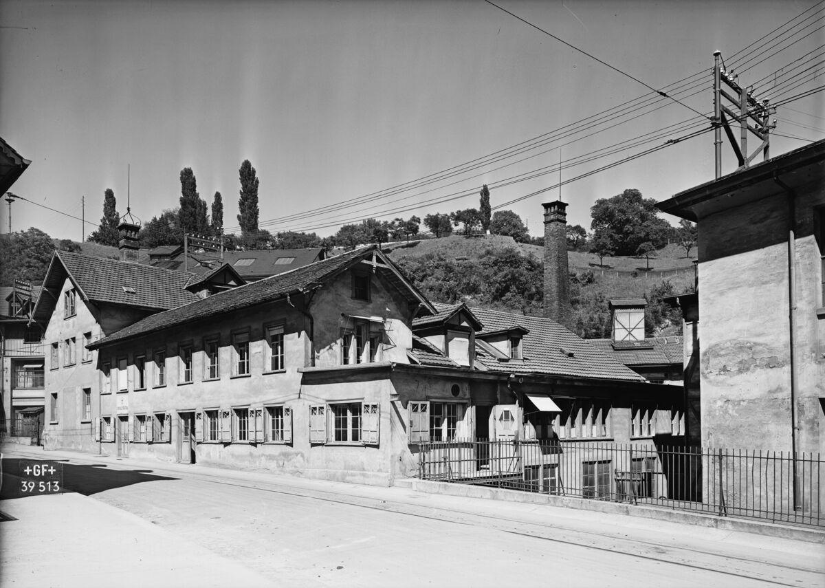 GFA 16/39513: Concierge and emergency room 1939