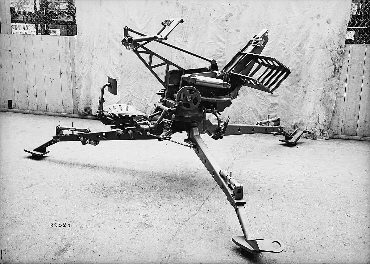 GFA 16/39523: 2 cm anti-aircraft gun for the Swiss army