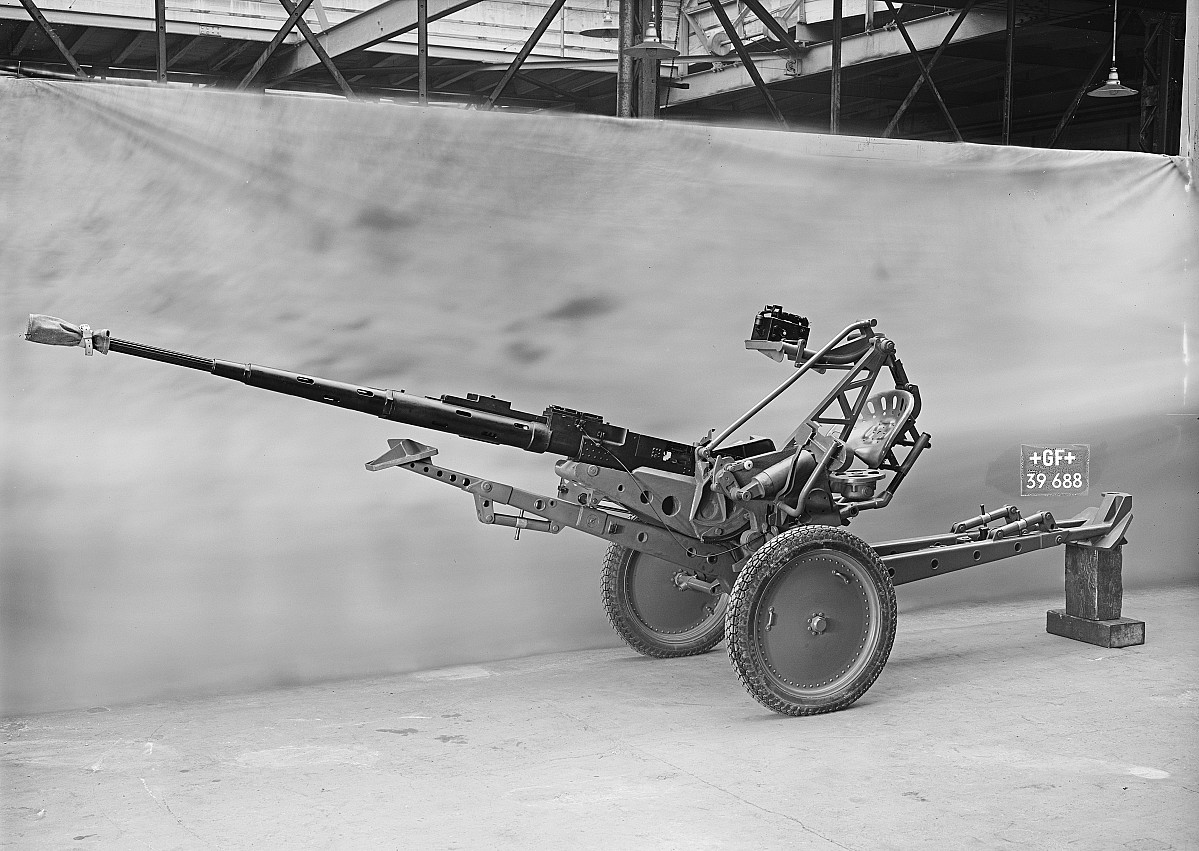 GFA 16/39688: 2 cm anti-aircraft gun for the Swiss army
