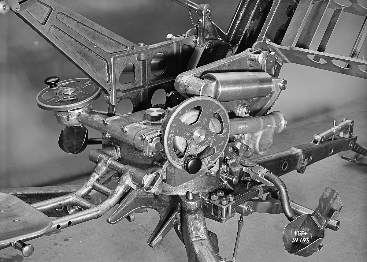 GFA 16/39693: 2 cm anti-aircraft gun for the Swiss army
