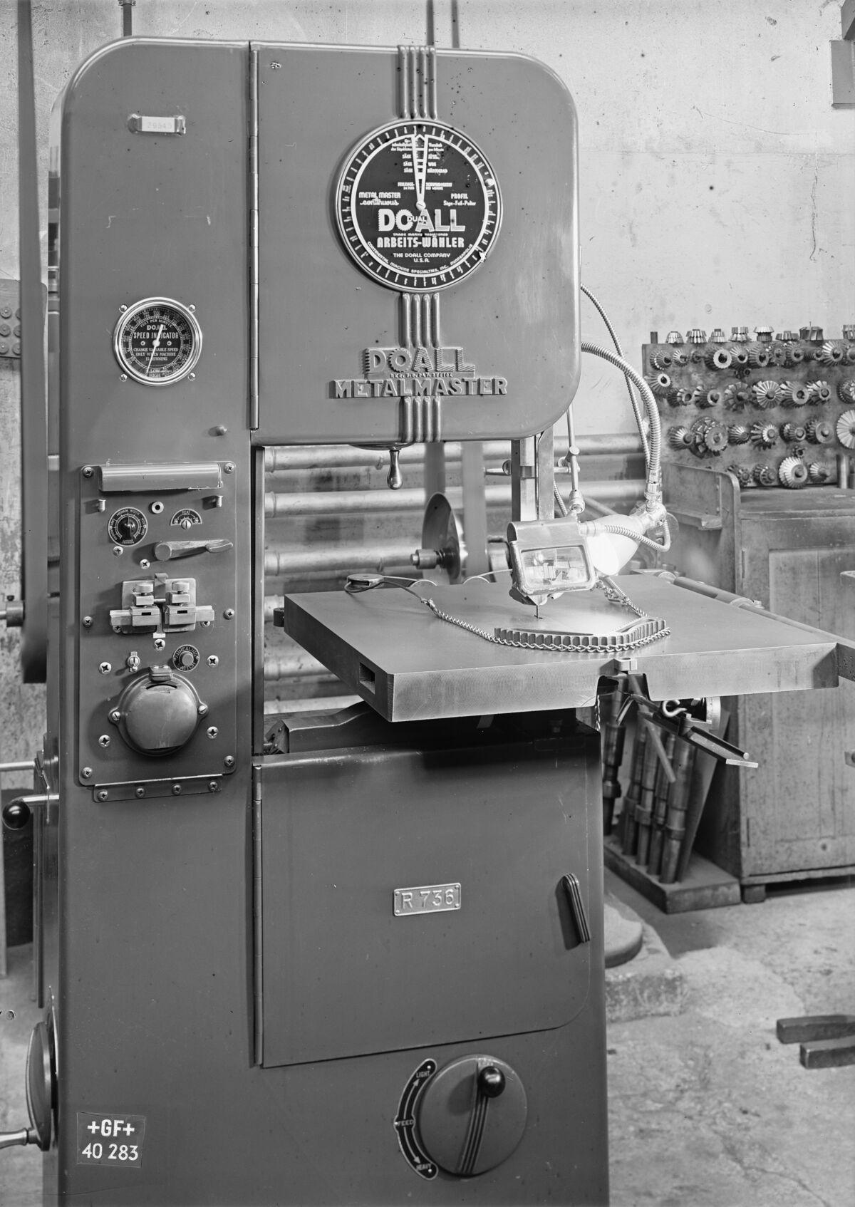 GFA 16/40283: Doall Metalmaster