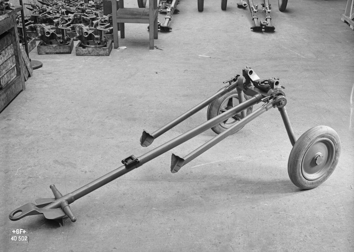GFA 16/40502: 2 cm anti-aircraft gun for the Swiss army
