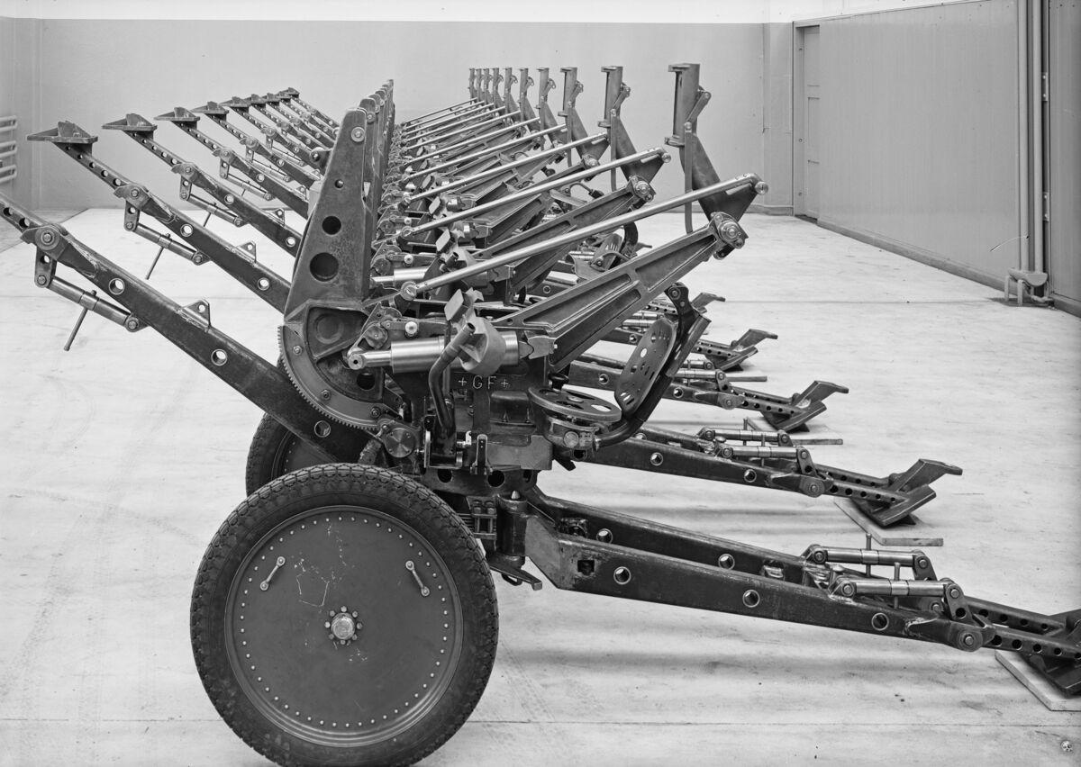 GFA 16/4115: 2 cm anti-aircraft gun for the Swiss army