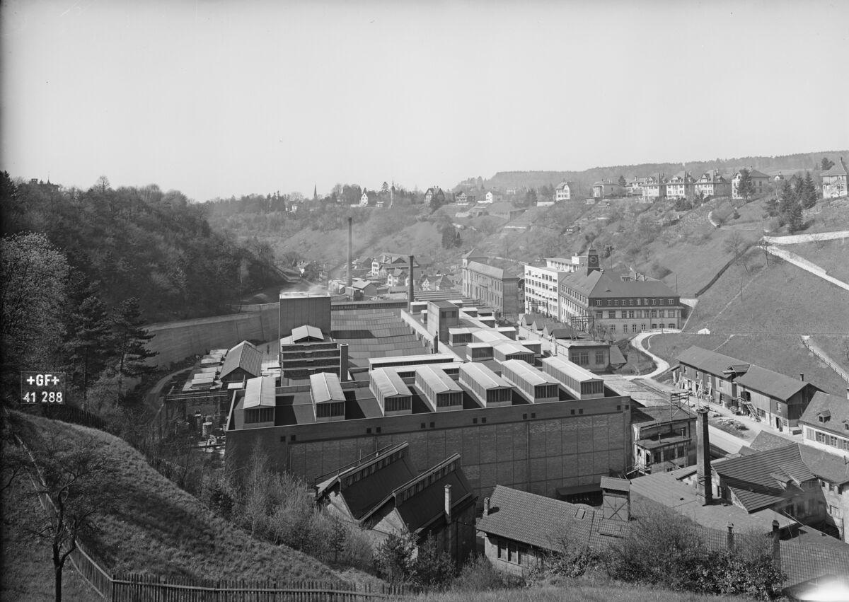 GFA 16/41288: Conversion plant I, construction phase 1941