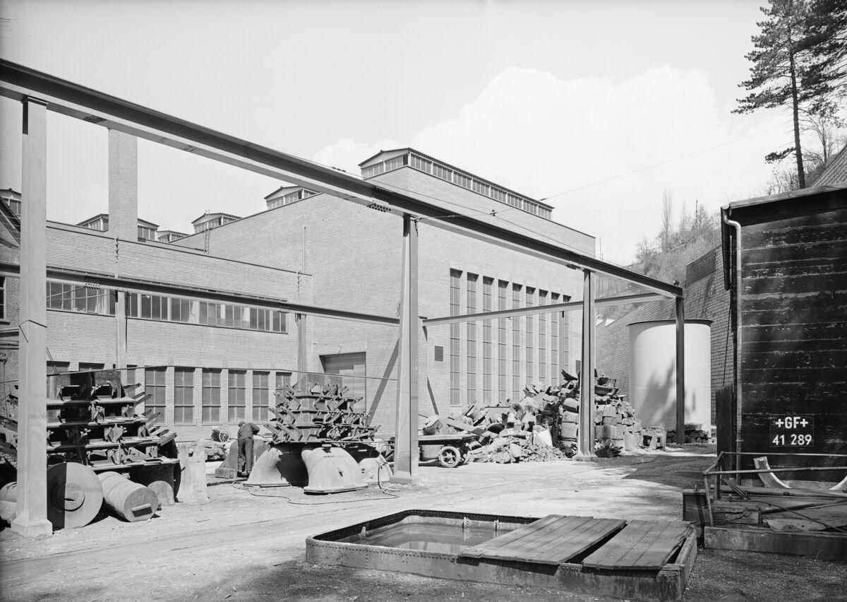 GFA 16/41289: Conversion plant I, construction phase 1941