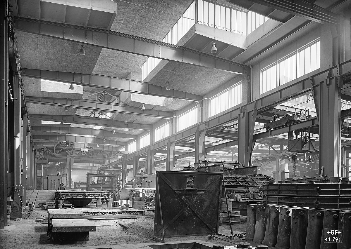 GFA 16/41291: Conversion plant I, construction phase 1941