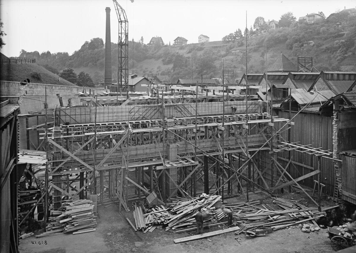 GFA 16/41618: Conversion plant I, construction phase 1941