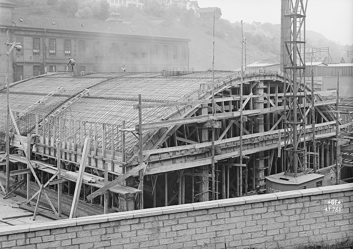 GFA 16/41761: Conversion plant I, construction phase 1941