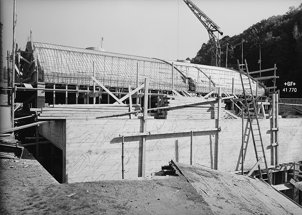 GFA 16/41770: Conversion plant I, construction phase 1941