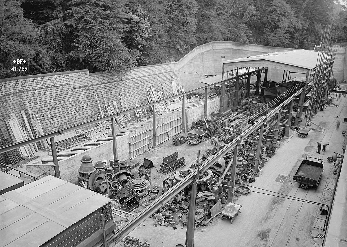 GFA 16/41789: Conversion plant I, construction phase 1941