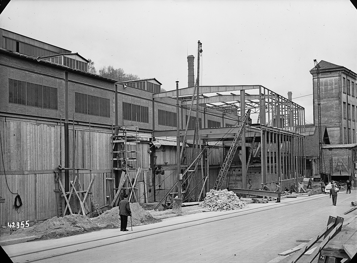 GFA 16/42355: Conversion plant I, construction phase 1942