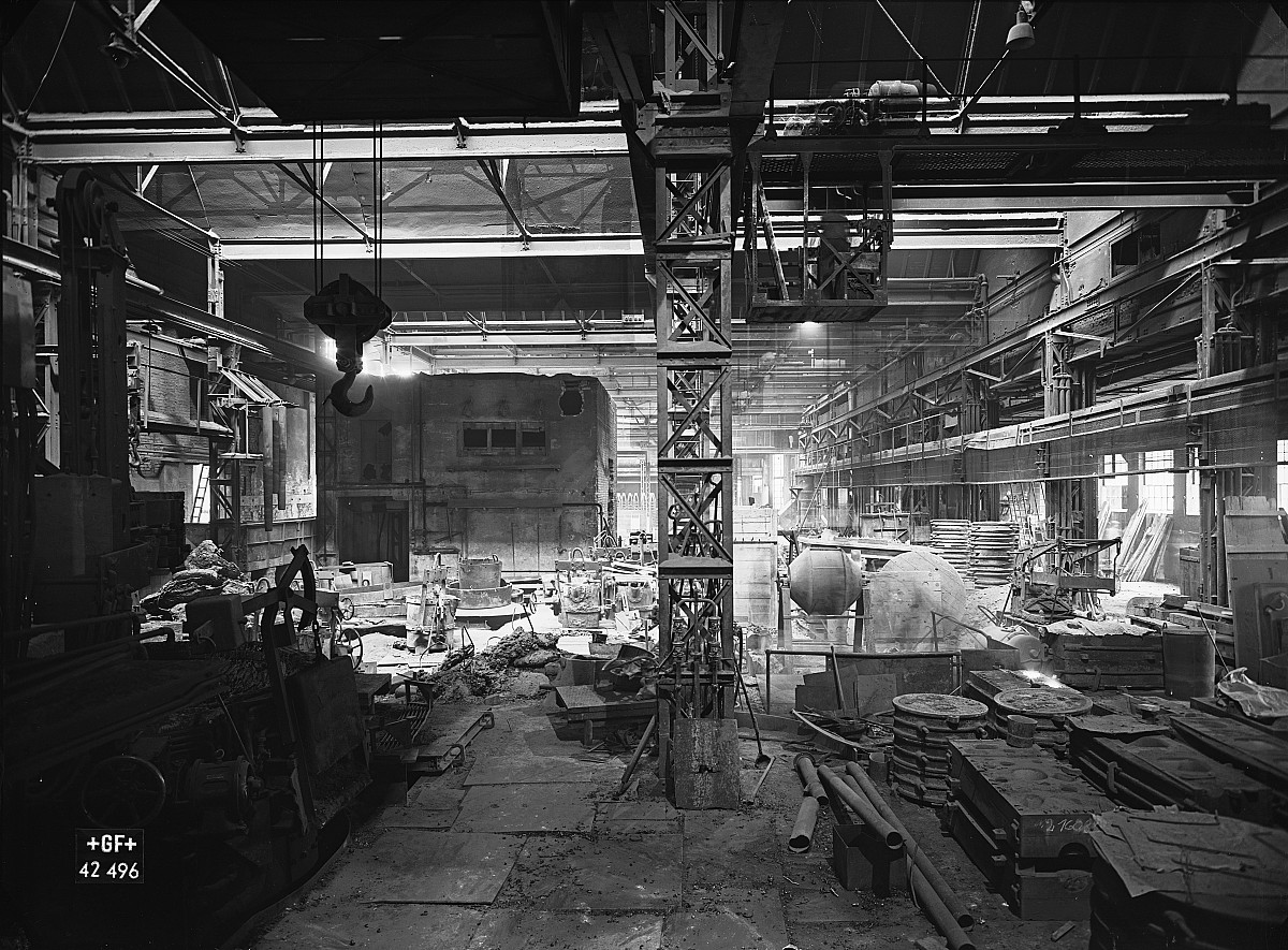 GFA 16/42496: Conversion plant I, construction phase 1942