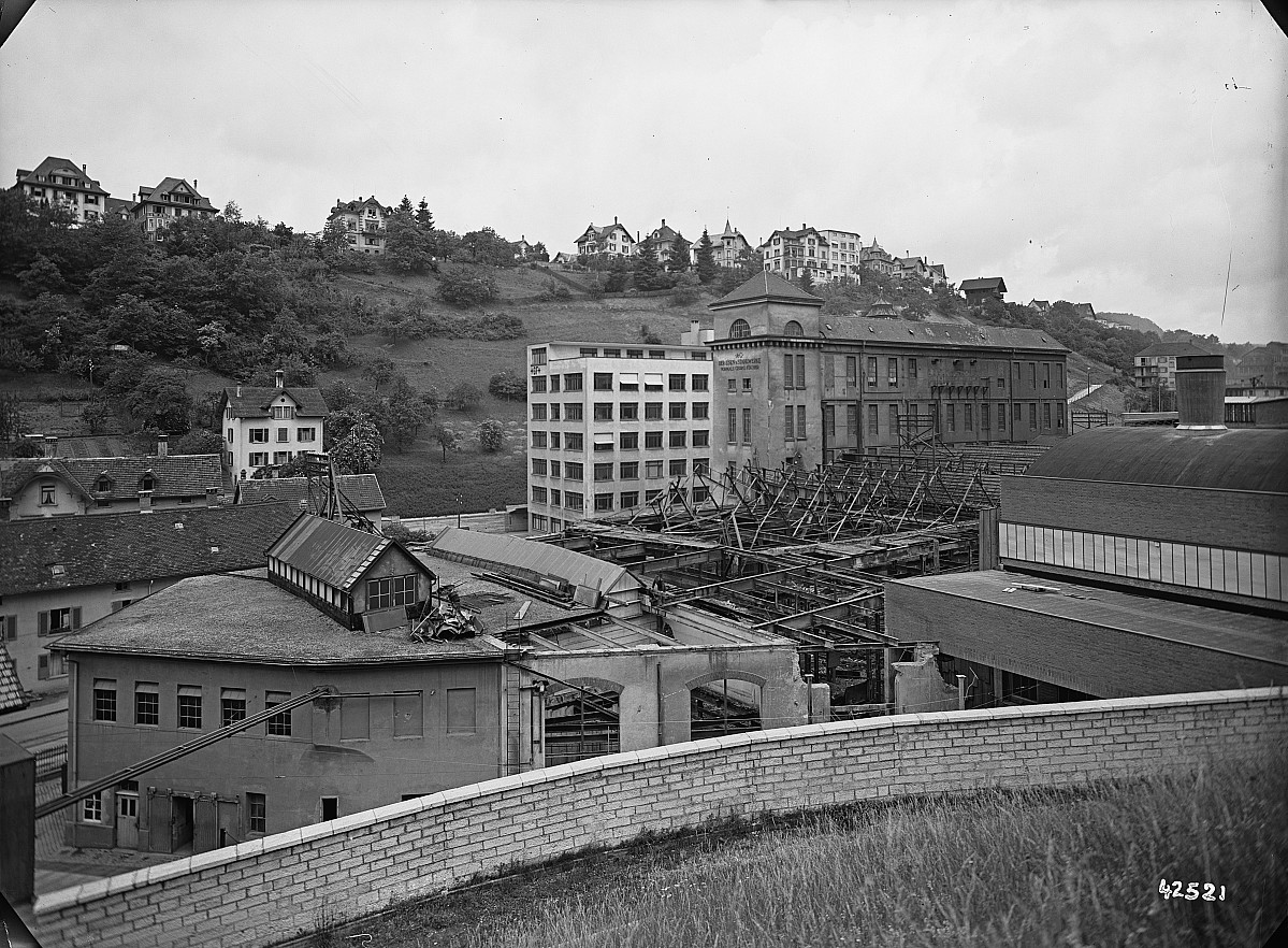 GFA 16/42521: Conversion plant I, construction phase 1942