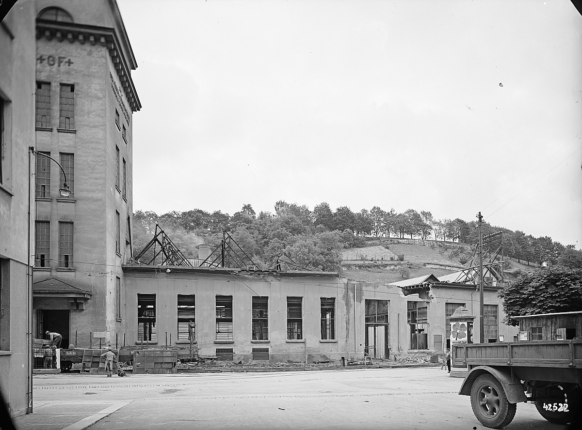 GFA 16/42522: Conversion plant I, construction phase 1942