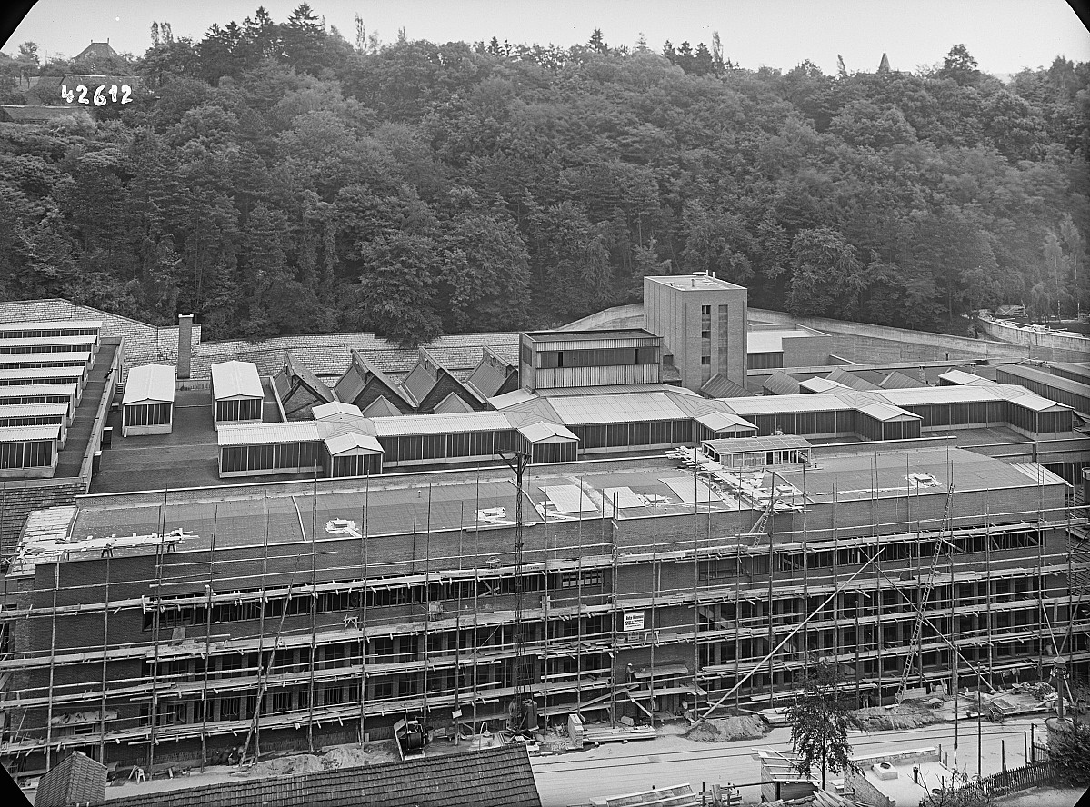 GFA 16/42612: Conversion plant I, construction phase 1942
