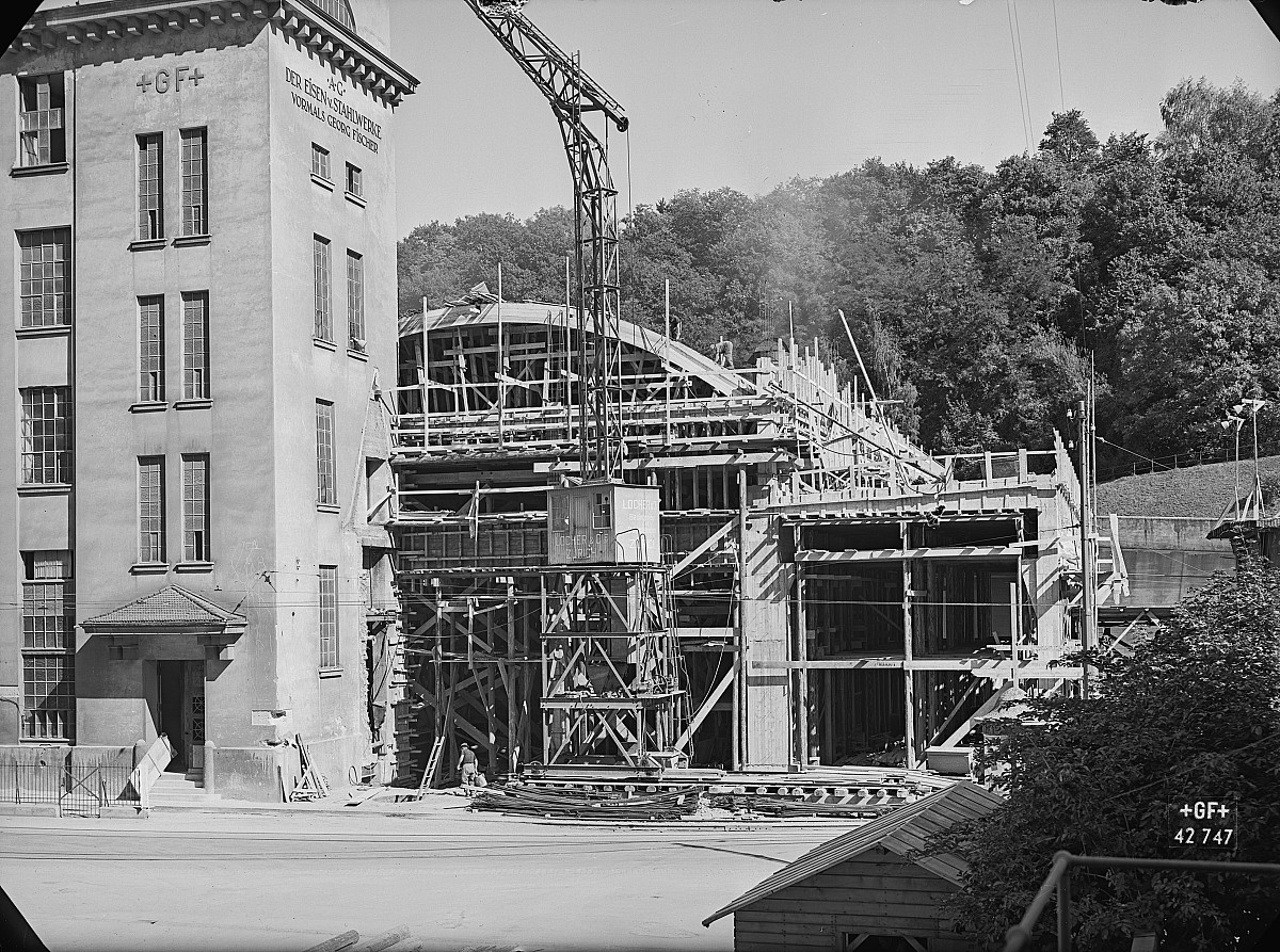 GFA 16/42747: Conversion plant I, construction phase 1942