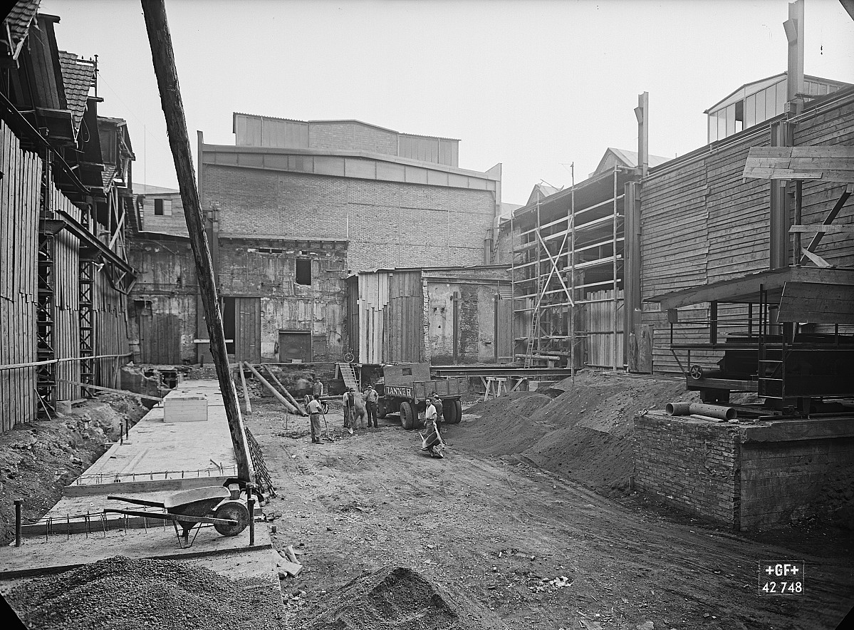 GFA 16/42748: Conversion plant I, construction phase 1941