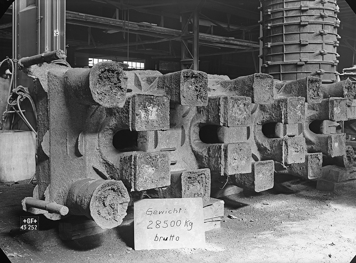 GFA 16/43252: Lower press holm, ironworks Klus