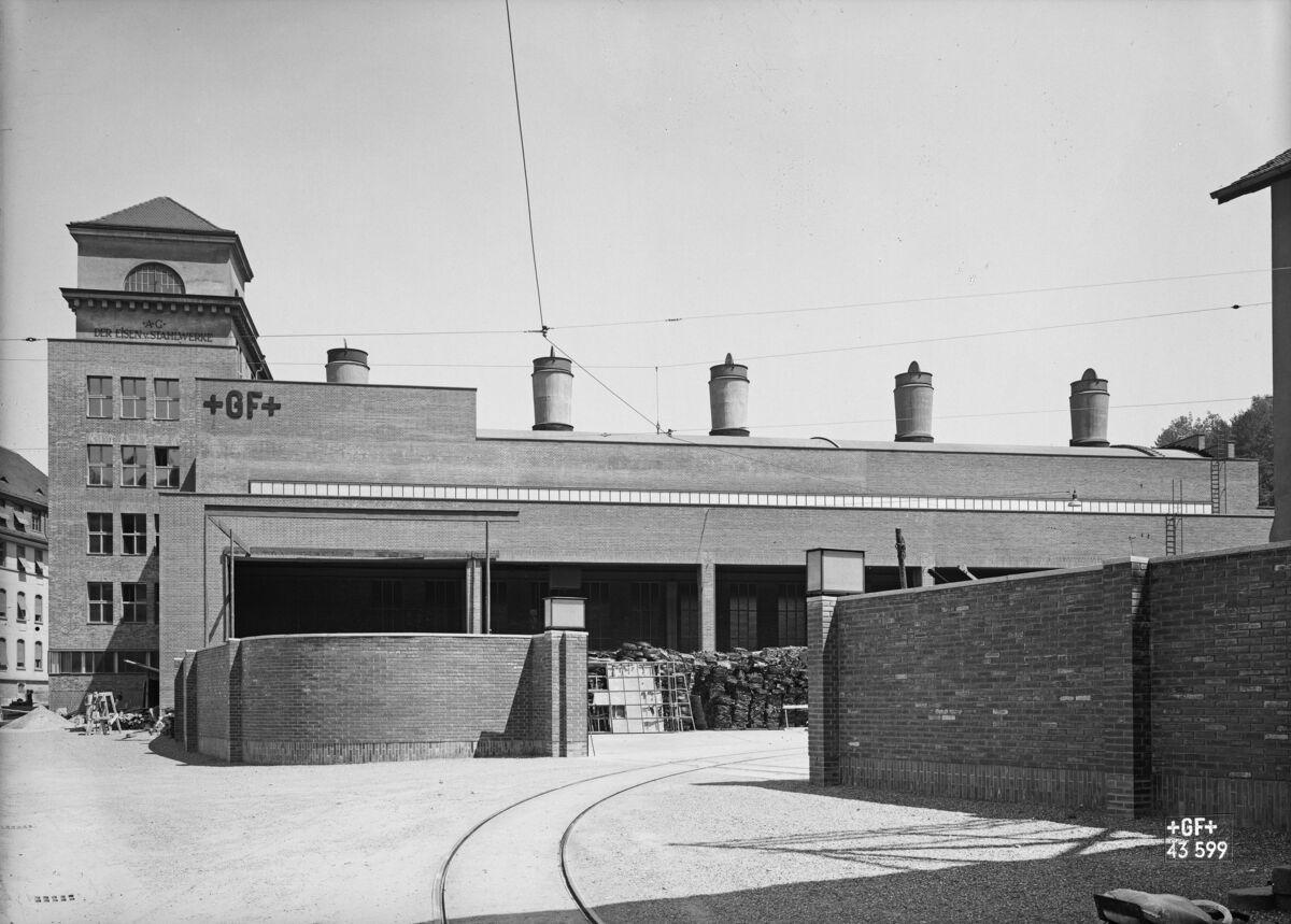 GFA 16/43599: New smelter, approximately 1890-1895